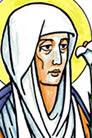 Adela de Pfalzel, Santa