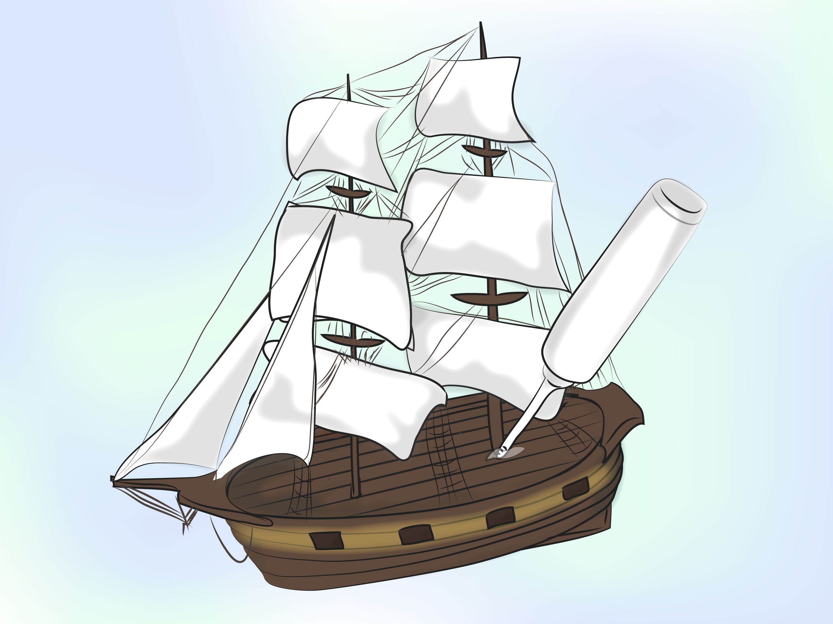 How to Build a Model Ship: 14 Steps (with Pictures)