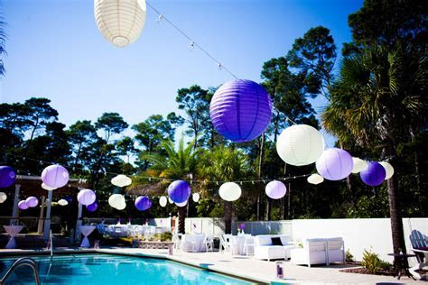 Purple Florida Beach Wedding: Part 2   Every Last Detail