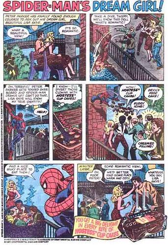 spider-man hostess ad