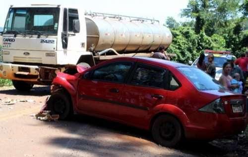 Três Barras - Grave acidente faz vítima fatal na PR-471