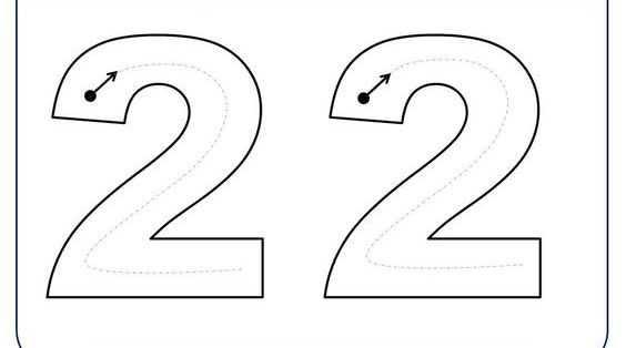 Best Okul öncesi 2 Rakamı çalışma Kağıdı Image Collection