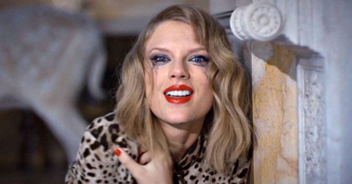 Taylor Swift : Blank Space photo taylor-swift-blank-space-tears-02.jpg