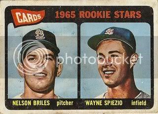 #431 Cardinals Rookie Stars: Nelson Briles and Wayne Spiezio