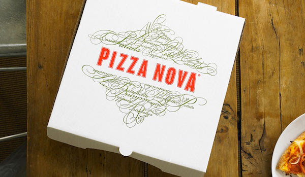 Pizza Nova Packaging Design 25+ Sour & Spicy Pizza Packaging Design Ideas