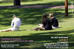 Undergraduates Perth, Spring time, sunshine. toapayohvets, singapore