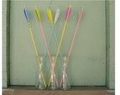 Pastel Decor Pale Pink and Baby Blue Arrows Crossed Set of 6 - FletcherandFox