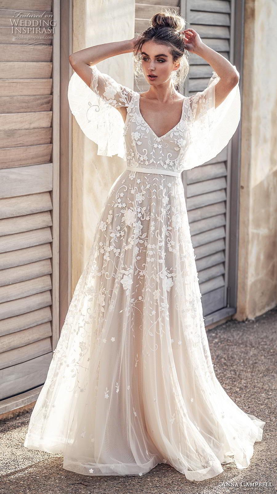 "anna campbell 2019 wedding dresses — ""wanderlust"" bridal"