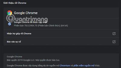 Cách bật chế độ Dark Mode trên Chrome