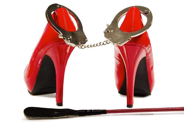 Las esposas y los tacones altos — Foto de Stock