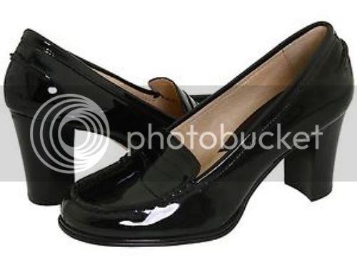 Michael Kors Bayville Black Patent Leather Penny Loafer ...