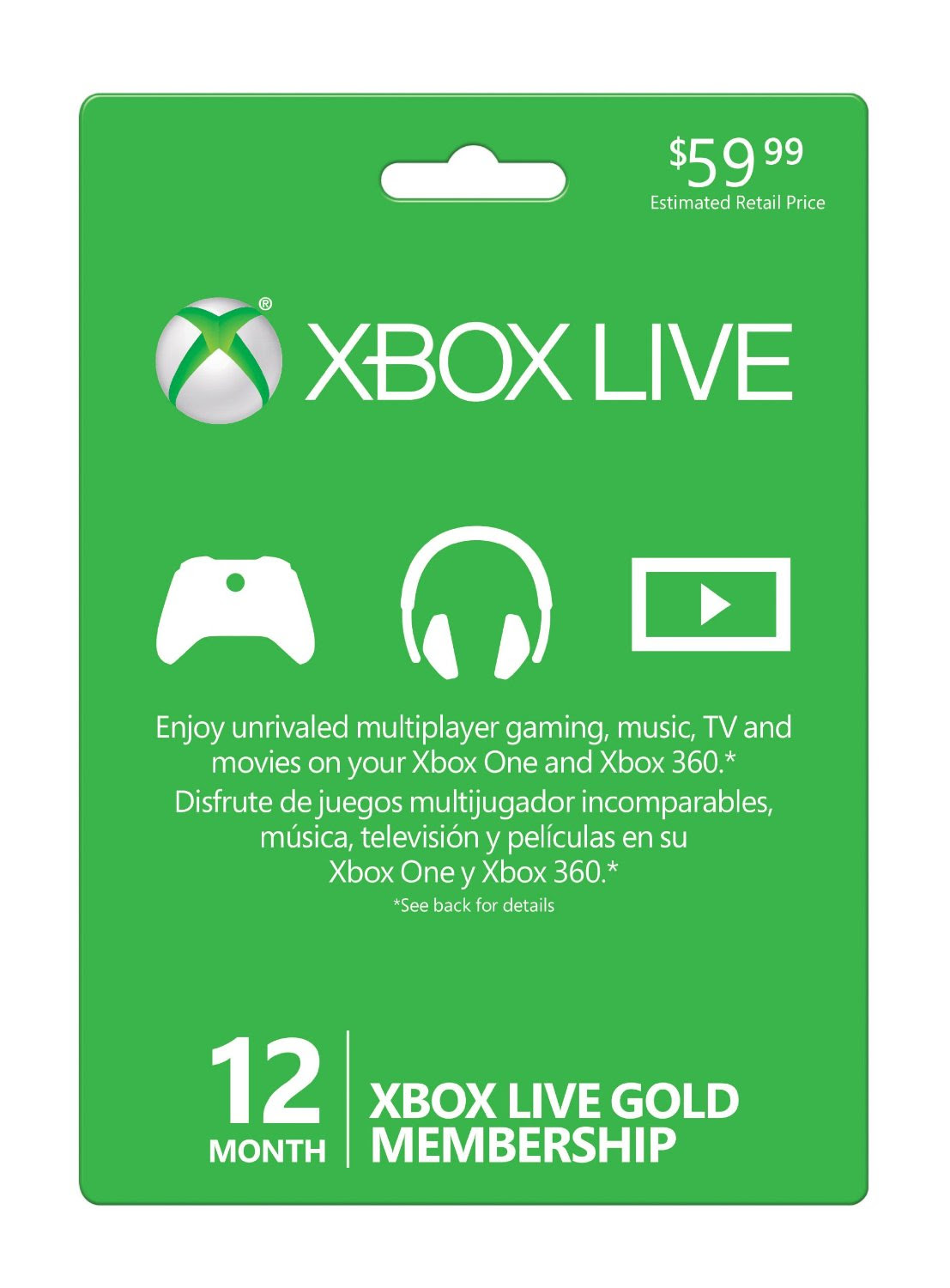 Giveaway: Xbox LIVE 12 Month Gold Membership Card Worth $59.99 - MSPoweruser