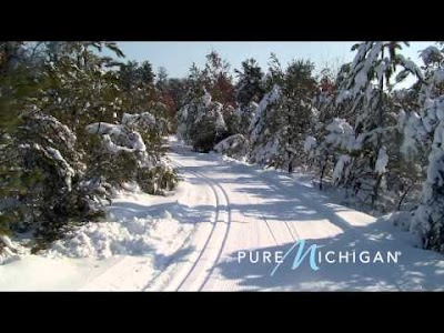 VIDEO: Pure Michigan's cross country skiing