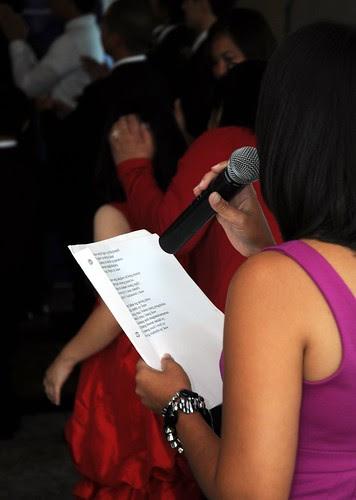 Karaoke wedding singer