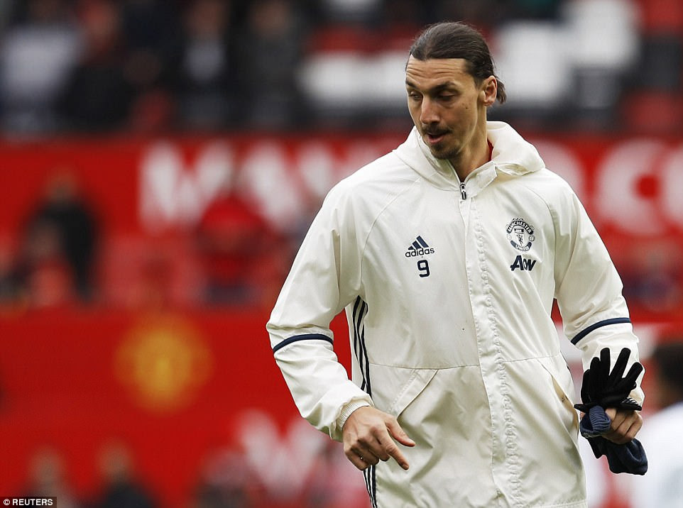 Zlatan Ibrahimovic had admitted he was begin to feel tired after a long season and started the game on the substitute's bench