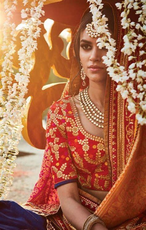 Indian Wedding Saree Blouse Back Designs   Image Of Blouse