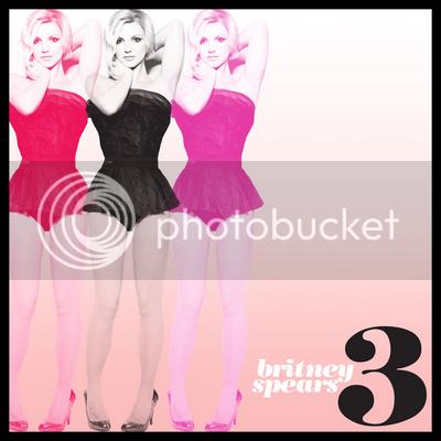 la copertina ufficiale di 3, il nuovo singolo di britney