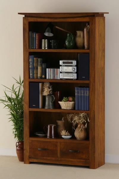 Tokyo Brown Teak Mango Bookcase