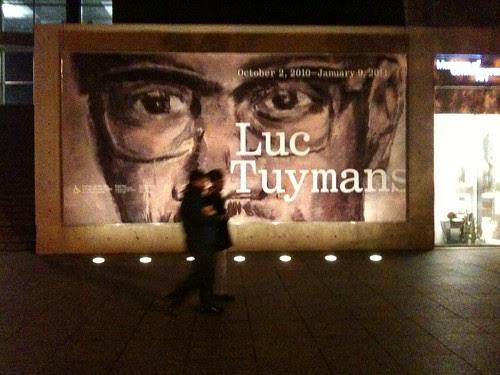 Luc Tuymans billboard