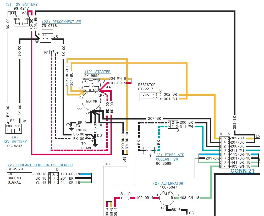 Wiring Diagram  25 Cat 3126 Ecm Wiring Diagram