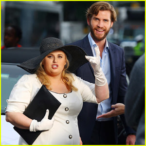 Liam Hemsworth & Rebel Wilson Channel 'Pretty Woman' While Filming 'Isn't It Romantic'