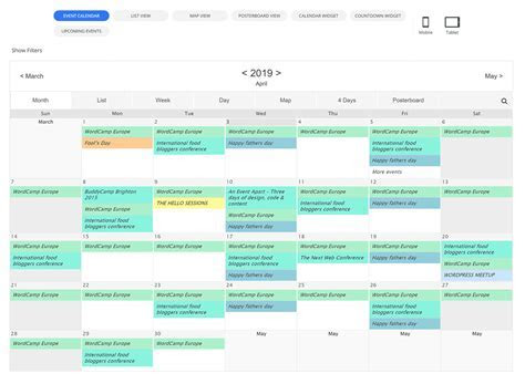 Eight Best Event Calendar Plugins for WordPress (2019)