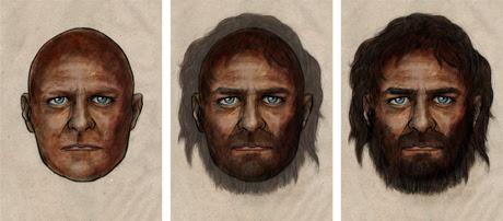 Occhi azzurri, carnagione scura: com'eravamo nel Mesolitico