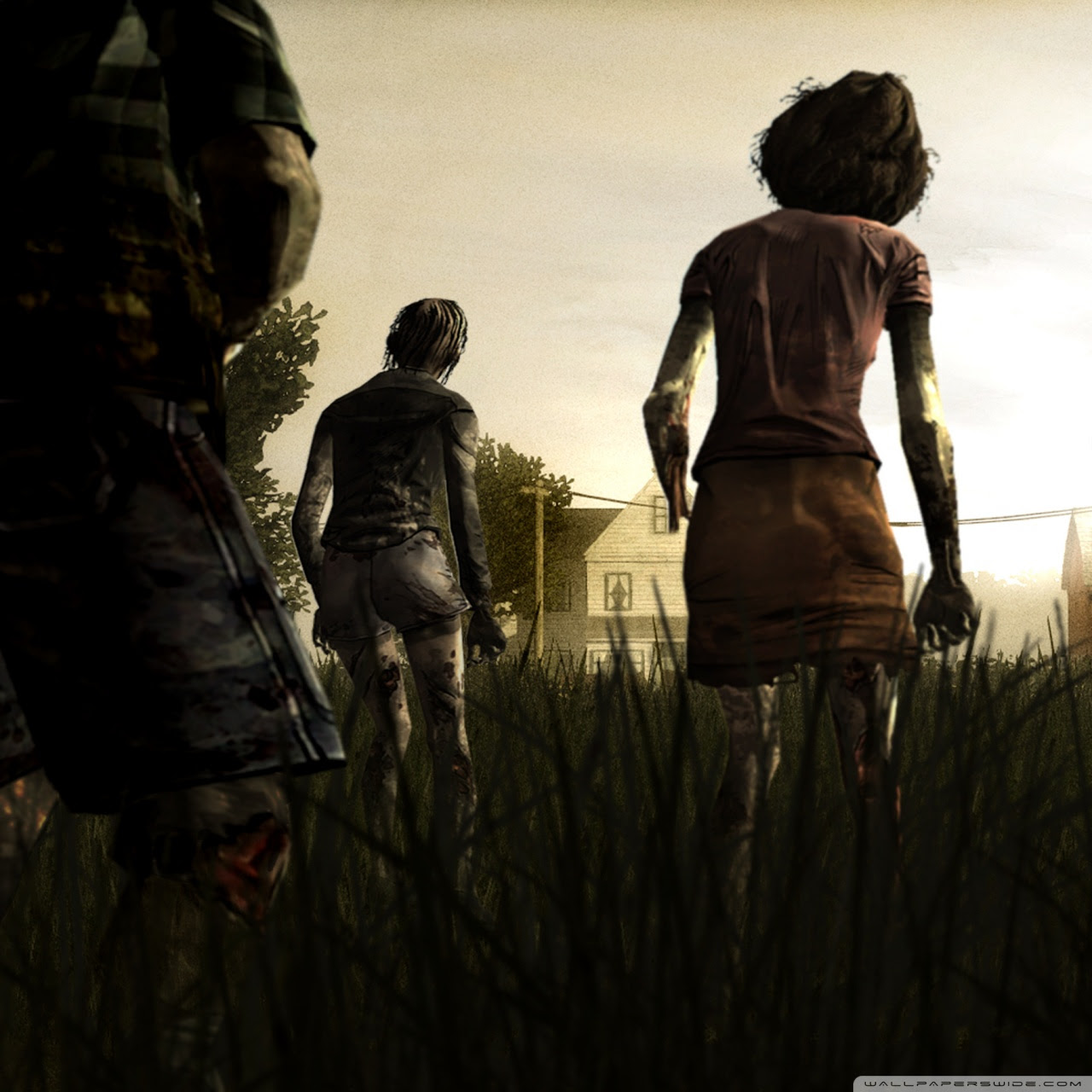 The Walking Dead Ultra Hd Desktop Background Wallpaper For