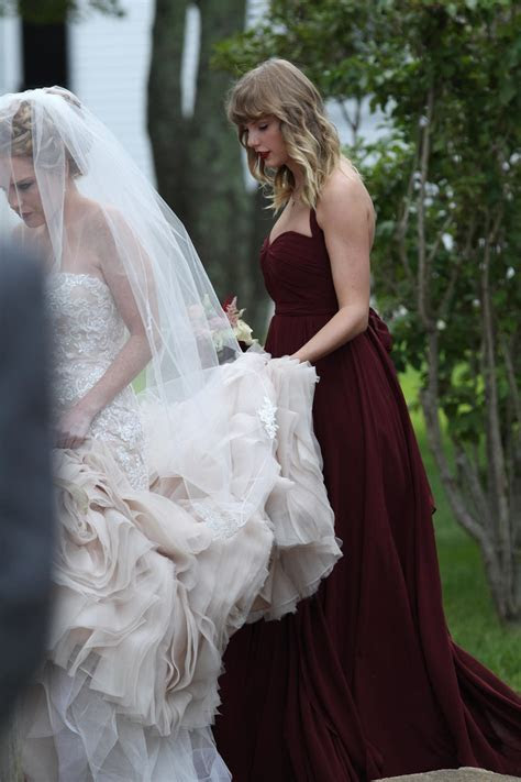 Taylor Swift At Abigail Anderson?s Wedding: See Pics Of