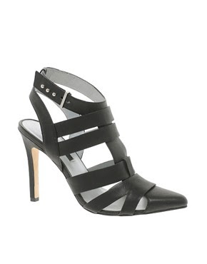 Image 1 of Senso Cadena I Black Strappy Heeled Shoes