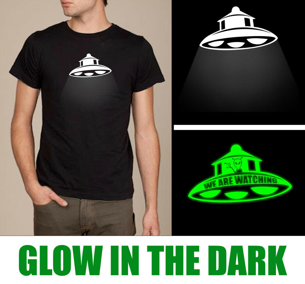 Print shirts dark t the glow in for yellow subscription box