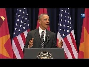 Toàn văn tiếng Anh phát biểu của Tổng thống Obama tại Trung tâm Hội nghị Quốc gia Hà Nội