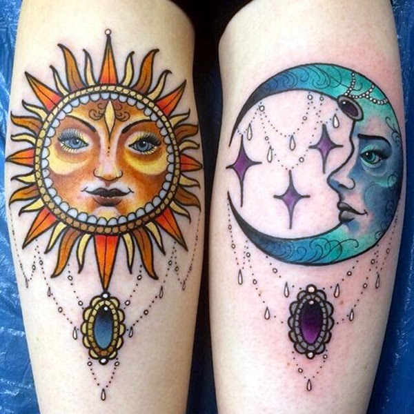 Adorable Sisters Forever Tattoo Design Ideas (1)