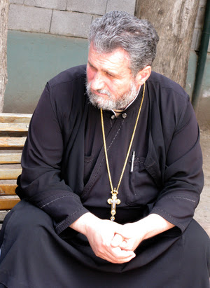 "The Rev. Mikael Botkovali of the Georgian Orthodox Church says homosexuals ""will go to hell,"" but he condemns the priests who led a mob against LGBT demonstrators in Tblisi."