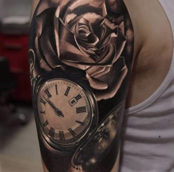 75 Lovely Rose Tattoo On Arm