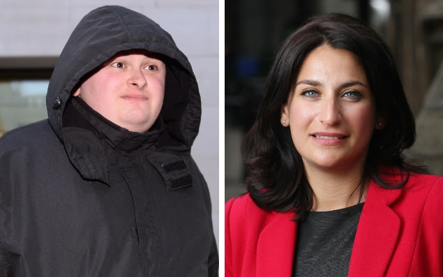 John Nimmo and Labour MP for Liverpool Wavertree Luciana Berge