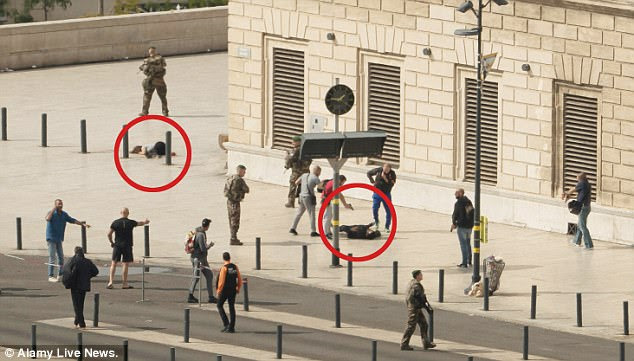 The attacker ¿ who was a North African of either Algerian or Tunisian origin ¿ was arrested in Lyon for shoplifting, but was released two days before the Marseille stabbings on Sunday
