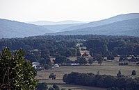 View towards the Saint Francois Mountains of t...