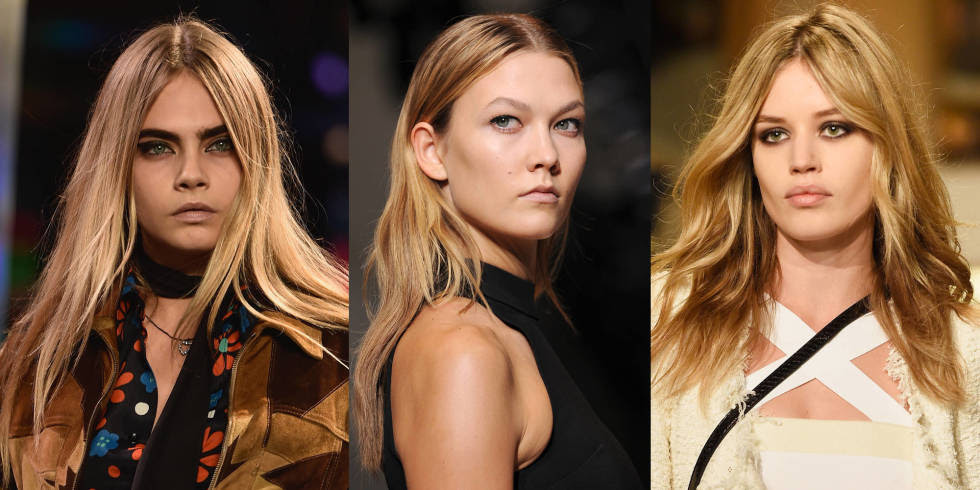 Spring/Summer 2015 beauty trends - Paris Fashion Week