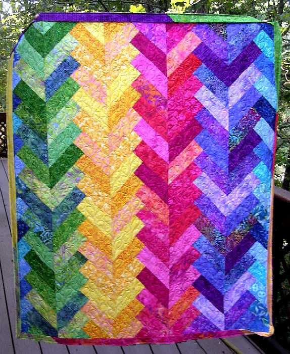 Free Quilt Patterns For Beginners | Thread: French Braid 1 Summer