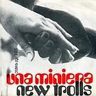 La copertina del 45 giri di «Una miniera», 1969