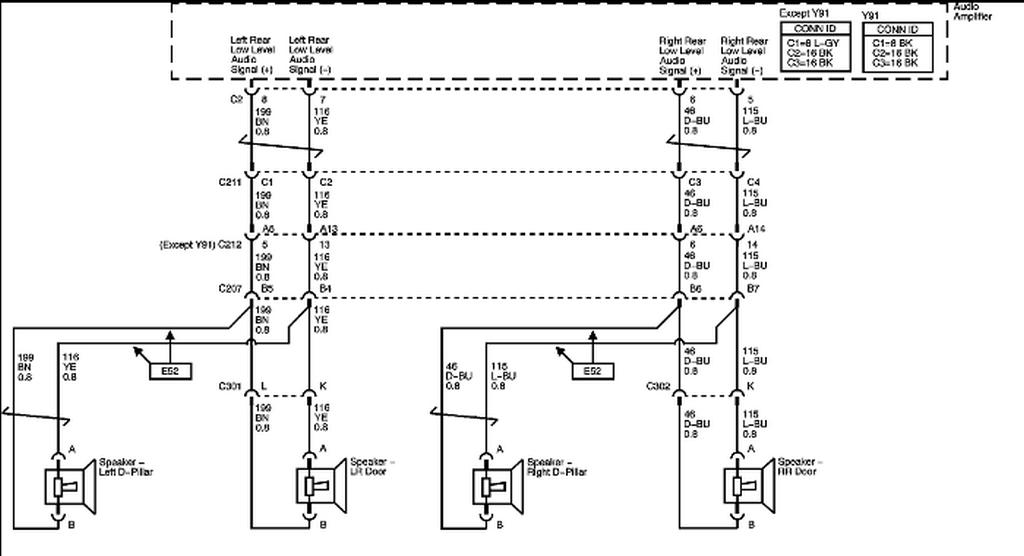 Schematics And Diagrams  2007 Chevrolet Tahoe Z71  Radio