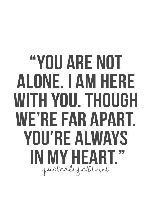 Quotes About Not Alone 683 Quotes