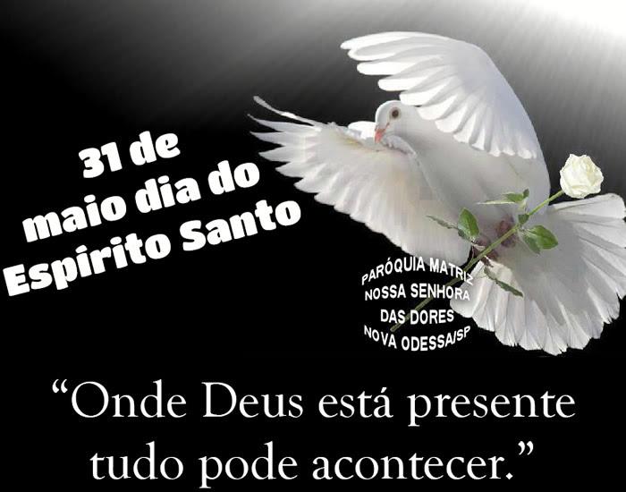 Dia do Espírito Santo Imagem 2