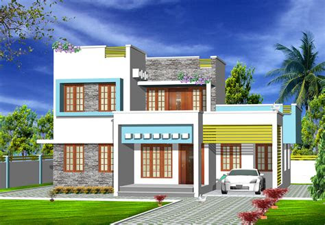 bedroom house plans archives kerala model home plans