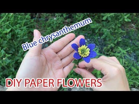 Hướng dẫn làm hoa cúc giấy đơn giản cực đẹp