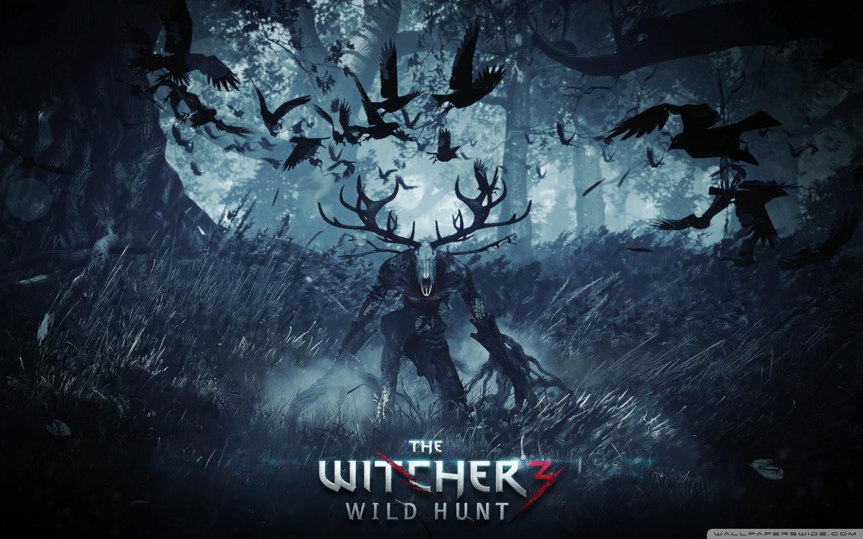 Leshy The Witcher 3 Wild Hunt Ultra Hd Desktop Background