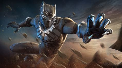 black panther marvel contest  champions wallpapers hd