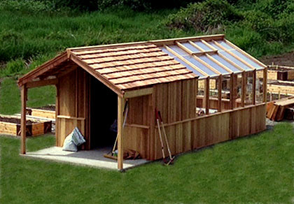 tool shed greenhouse plans ~ Here Shed Plans PDF Garden Greenhouse Shed Combo Plans Html on greenhouse designs, house barn combo plans, garden shed greenhouse plans, greenhouse made out of old windows, potting shed greenhouse plans, backyard greenhouse shed plans, shed with greenhouse plans,