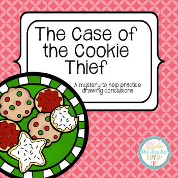 The Case of the Cookie Thief - an activity for drawing con
